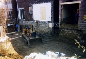 Mexco3 Excavation for new basement addition